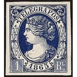 1865 ED. Telégrafos 5 *