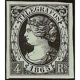 1865 ED. Telégrafos 6 *