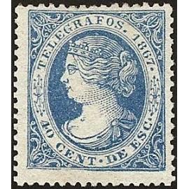 1867 ED. Telégrafos 18 *