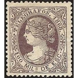 1868 ED. Telégrafos 21 *
