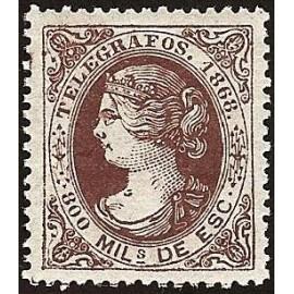 1868 ED. Telégrafos 23 *