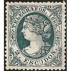1869 ED. Telégrafos 29 *
