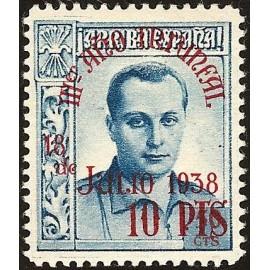 1938 ED. Beneficencia Huérfanos de Correos NE 31 **