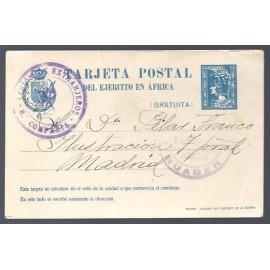 1921 ED. 2A Tarjetas Militares