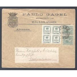 Alfonso XIII ED. 173d, 213 (x2)