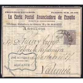1901-1910 ED. 4A us Enteros Postales Privados