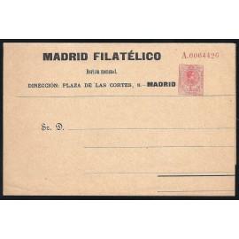 1910-1924 ED. 9 * Enteros Postales Privados