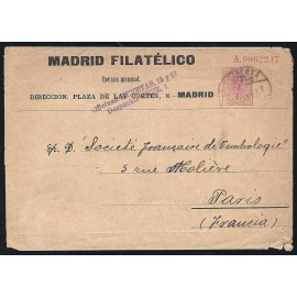 1910-1924 ED. 9 us Enteros Postales Privados