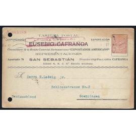 1910-1924 ED. 12 us Enteros Postales Privados