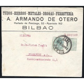 1910-1924 ED. 20 us Enteros Postales Privados