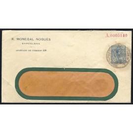 1910-1924 ED. 22 us Enteros Postales Privados