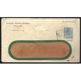 1910-1924 ED. 28 us Enteros Postales Privados