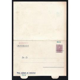 1925-1931 ED. 33 * Enteros Postales Privados