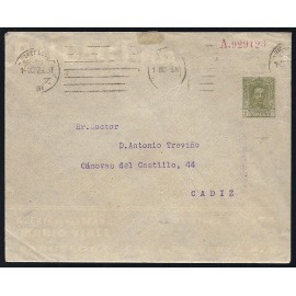 1925-1931 ED. 39 us Enteros Postales Privados