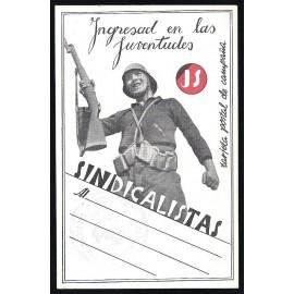 Tarjeta Postal - Juventudes Sindicalistas