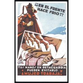 Tarjeta Postal - Consejo de Sanidad de Guerra. (3)