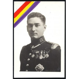 Tarjeta Postal - Capitán Ángel García Hernández