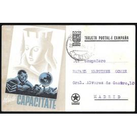 Tarjeta Postal - 1er Cuerpo Ejército Comisariado (5)