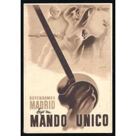Tarjeta Postal - Junta Delegada de Defensa de Madrid (11)