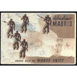 Tarjeta Postal - Junta Delegada de Defensa de Madrid (12)