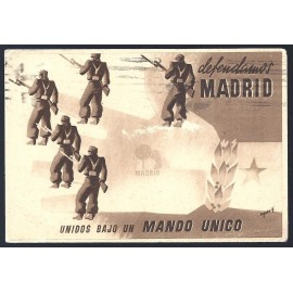 Tarjeta Postal - Junta Delegada de Defensa de Madrid (13)