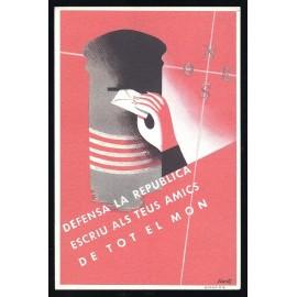 Tarjeta Postal - Comissariat de Propaganda de la Generalitat de Catalunya (11)