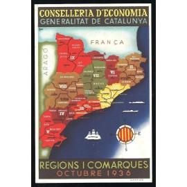 Tarjeta Postal - Comissariat de Propaganda de la Generalitat de Catalunya (13)