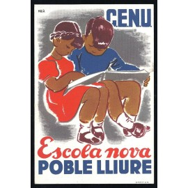 Tarjeta Postal - Comissariat de Propaganda de la Generalitat de Catalunya (15)