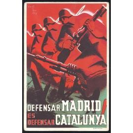 Tarjeta Postal - Comissariat de Propaganda de la Generalitat de Catalunya (16)