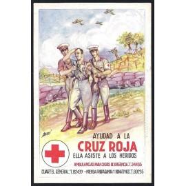 Tarjeta Postal - Cruz Roja (3)
