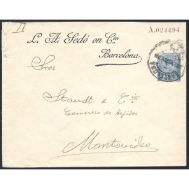 1910-1924 ED. 22 us Enteros Postales Privados