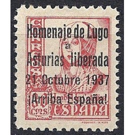 1937 ED. ELP Lugo 8A (*)
