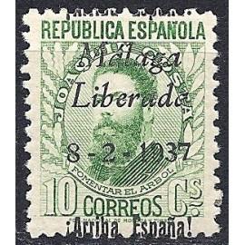 1937 ED. ELP Málaga 10A *