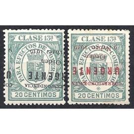 1936 ED. ELP Burgos 50hi/51hi **/*
