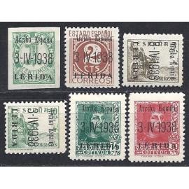 1938 ED. ELP Lérida 1/6 *