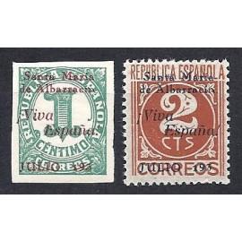 1937 ED. ELP Santa María de Albarracín 1he/2he *