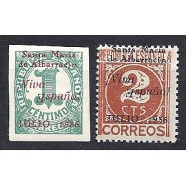 1937 ED. ELP Santa María de Albarracín 1hea/2hea *