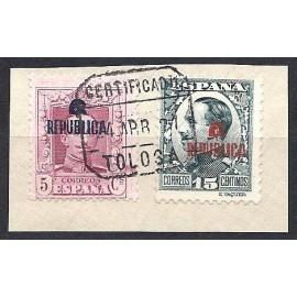 1931 ED. ELR Tolosa 12 y 15 us