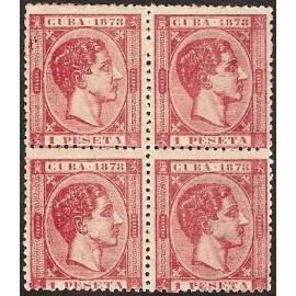 1878 ED. Cuba 49 * [x4]