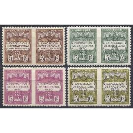 1929-1931 ED. Barcelona 3sph/6sph *