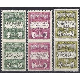 1929-1931 ED. Barcelona 4/6 dspv **