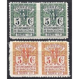 1932-1935 ED. Barcelona 9sph/10sph *