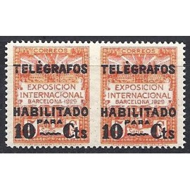 1929 ED. Barcelona - Telégrafos 1dsph **