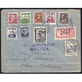 1937 ED. ELP Málaga 8, 9, 12, 17, 18, 20, 21, 23, 24 us