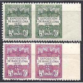 1929-1931 ED. Barcelona 4sph/5sph **