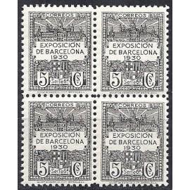 1929-1931 ED. Barcelona 6ef ** [x4]