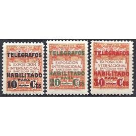 1929 ED. Barcelona - Telégrafos 1/3 *