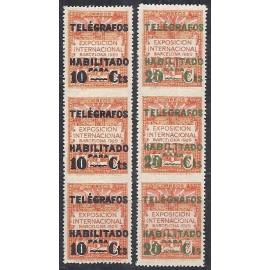 1929 ED. Barcelona - Telégrafos 1dstv/2dstv **