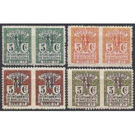 1932-1935 ED. Barcelona 9sph/12sph **/(*)