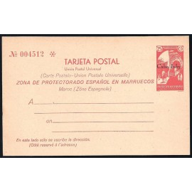 1933 ED. 2 * Enteros Postales Cabo Juby